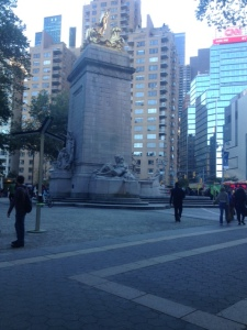 Beautiful Beautiful Columbus Circle = The End